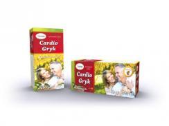 Cardio-Gryk, mieszanka ziołowa z łuską gryki, 60 saszetek