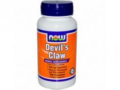 NOW Diabelski Pazur (Devil's Claw) 500mg 100 kaps.