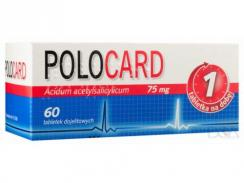 Polocard 75mg, 60 tabletek