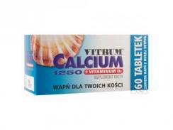 Vitrum Calcium 1250 + Vitamina D3, 60 tabletek