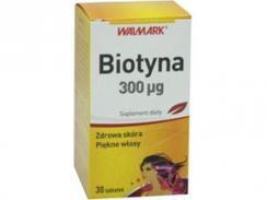 Biotyna, 300mcg, 30 tabletek