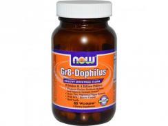 NOW GR-8 Dophilus, 60 kapsułek
