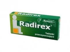 Radirex, 10 tabletek