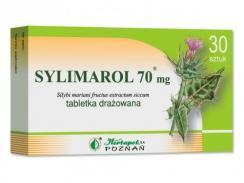 Sylimarol 70mg, 30 drażetek