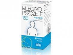 Mleczko pszczele Royal Jelly 150mg, 45 tabletek