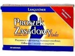 Proszek zasadowy 30 tabletek