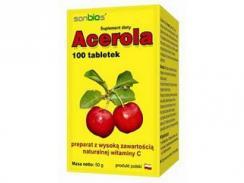 Acerola 100 tabl. SANBIOS