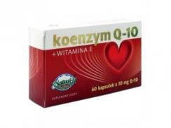 Koenzym Q-10 30mg + vitamina E, 120 kapsułek