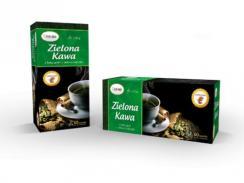 Zielona Kawa z Łuską Gryki 60 saszetek