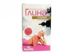 Glinka kosmetyczna różowa 100g Aram