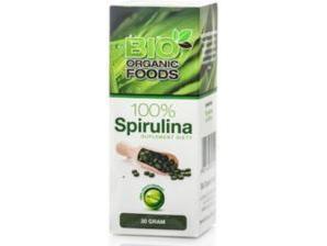 Spirulina Platensis 400 tabl. 80g BIO ORGANIC FOODS