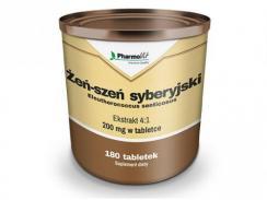 ŻEŃ-SZEŃ syberyjski ekstrakt 200mg 180 tabl. PharmoVit