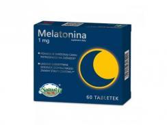 Melatonina 1 mg 60 kapsułek NATURELL