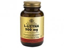SOLGAR L-LIZYNA 500 mg 50 kaps.
