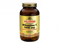 SOLGAR WITAMINA C500mg DO SSANIA 90 kaps. POMARAŃCZA