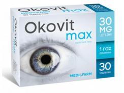 Okovit max 30 tabl. 30 mg LUTEINY