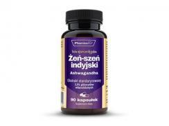 Żeń-szeń indyjski Ashwagandha 200 mg 90 kaps.