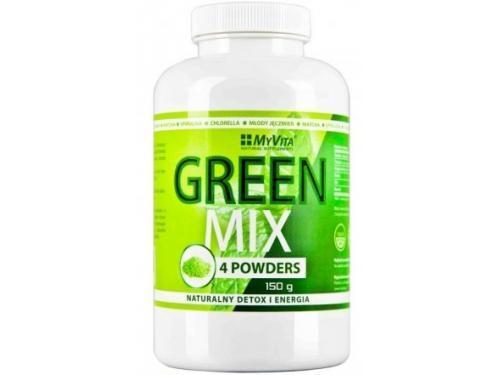 GREEN MIX 150 g MyVita detox, oczyszczanie