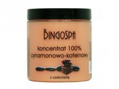 BINGOSPA Koncentrat cynamonowo-kofeinowy z czekoladą  250 g