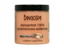 BINGOSPA Koncentrat cynamonowo - kofeinowy z olejkiem arganowym 250 g