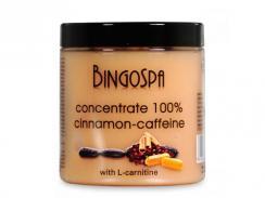 BINGOSPA Koncentrat cynamonowo-kofeinowy z L-karnityną 250 g