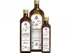 Olej lniany 500 ml LenVitol