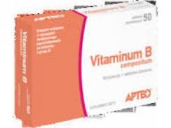 Vitaminum B compositum, Apteo x 50 tabletek