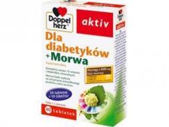 Doppelherz Aktiv, dla diabetyków z morwą, 40 tabletek