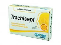 Trachisept Miód i Cytryna 16 pastylek do ssania