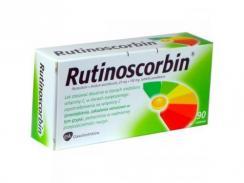 Rutinoscorbin x 90 tabletek