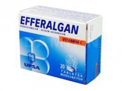 Efferalgan z Witaminą C 20 tabletek musujących