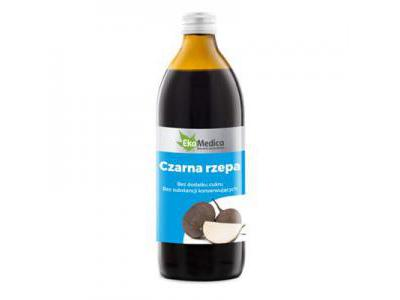 EkaMedica Czarna Rzepa sok 500 ml