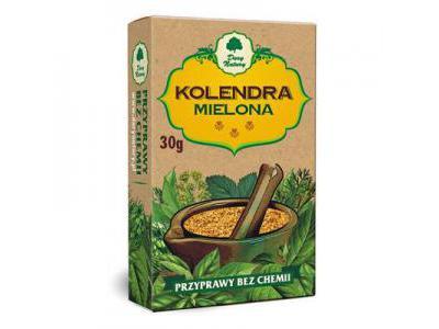 Kolendra mielona 30g DARY NATURY