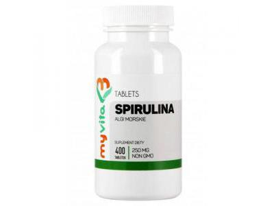 MyVita Spirulina tabletki 250mg, 400tab.