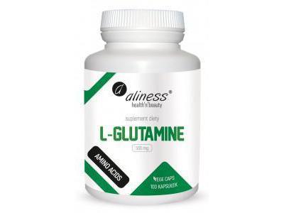 L-Glutamine 500 mg 100kaps.
