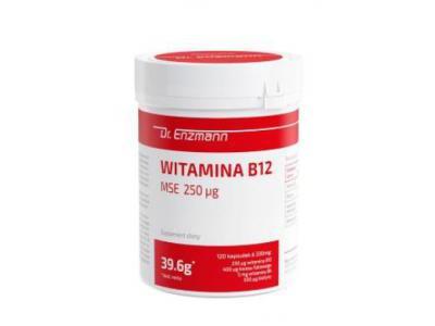 Witamina B12 MSE 250mcg 120 kapsułek