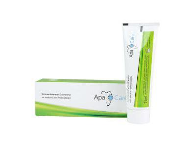 ApaCare Remineralizująca pasta do zębów 75ml