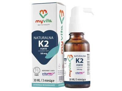 WITAMINA K2 MK-7 krople 30 ml MyVita