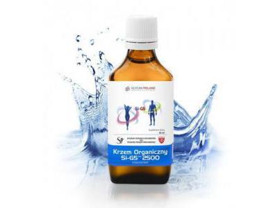 Krzem Organiczny Si-G5 2500 KONCENTRAT 50 ml