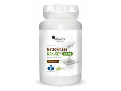 Nattokinase Nattokinaza 100 mg 60 kapsułek
