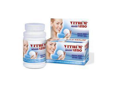 Vitrum Calcium 1250 + Vitamina D3, 120 tabletek
