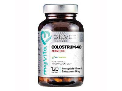 Colostrum 40 Immuno Forte 120 kapsułek MyVita