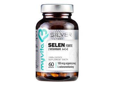 Selen L-selenometionina 100mcg 60 kaps MyVita