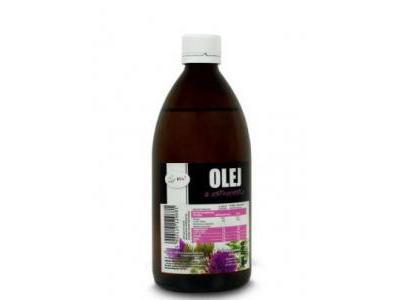 Olej z Ostropestu Zimnotłoczony 500ml VIVIO