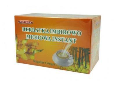 Herbata imbirowo-miodowa instant 12sasz.