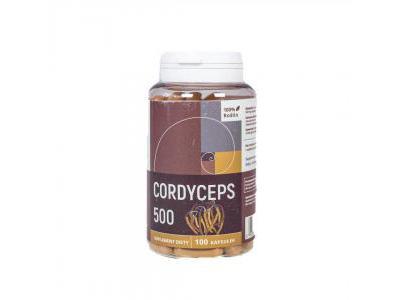 Kordyceps 100 kapsułek 500 mg Cordyceps sinensis