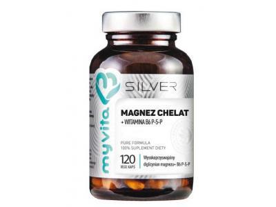 Magnez Chelat plus B6 120 kaps MyVita