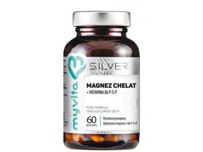 Magnez Chelat plus B6 60 kaps MyVita