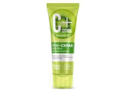 Fitokosmetik C+ Citrus Kiwi Scrub do twarzy 75ml