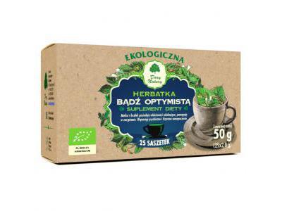 Herbatka Bądź Optymistą EKO 25x2g DARY NATURY